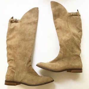 ZARA Riding Over The Knee Boots 41 10